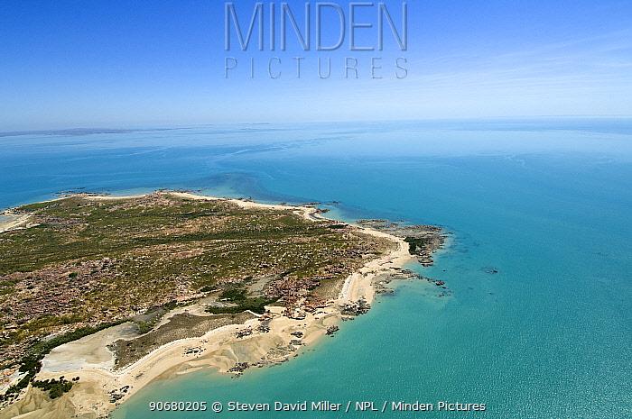 Aerial view of Admiralty Gulf on the Kimberley coastline, Western Australia, September 2006  -  Steven David Miller/ npl