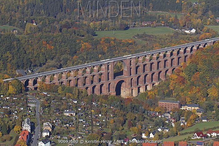 Minden Pictures stock photos - Goltzsch Viaduct, the ...