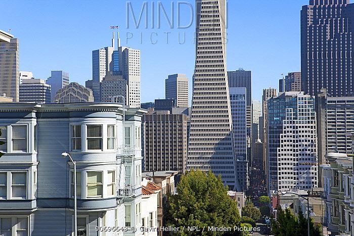 Trans America Building, San Francisco, California, USA, June 2011  -  Gavin Hellier/ npl