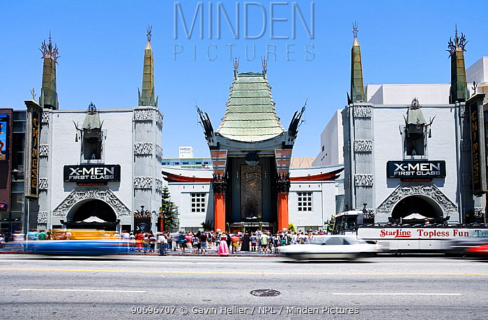 Grauman's Chinese Theatre, Hollywood Boulevard, Hollywood, Los Angeles, California, USA  -  Gavin Hellier/ npl