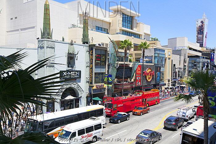 Mann's Chinese Theatre on Hollywood Boulevard, Los Angeles, California, USA  -  Gavin Hellier/ npl