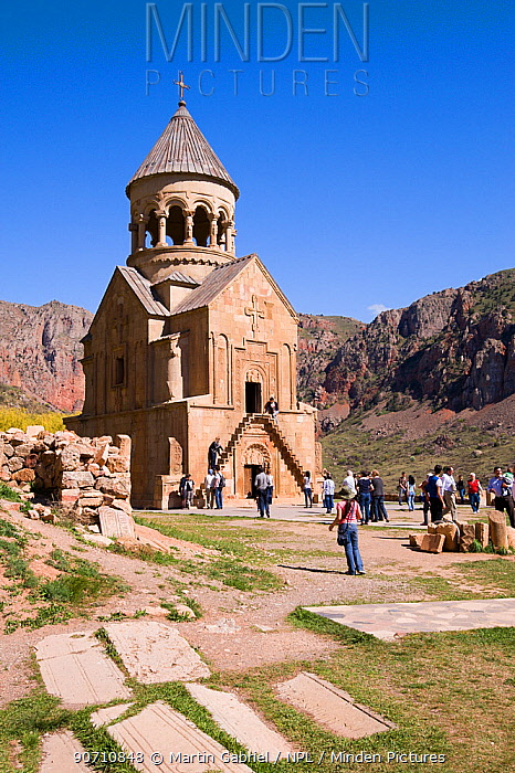 Noravank Monastery, Central Armenia, April.
