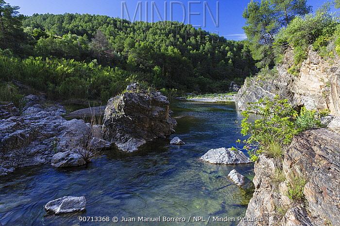 Siurana River Area of Natural Interest, Tarragona, Catalonia, Spain. May 2013.
