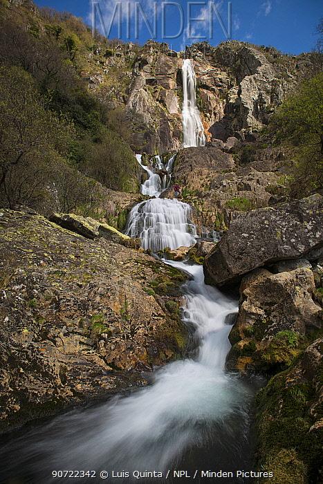 Mizarela Waterfall, Freita Mountain Range, Portugal, March 2015.
