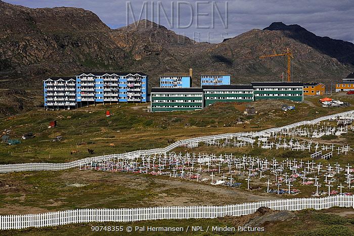 Sismiut town, Greenland, July 2016.
