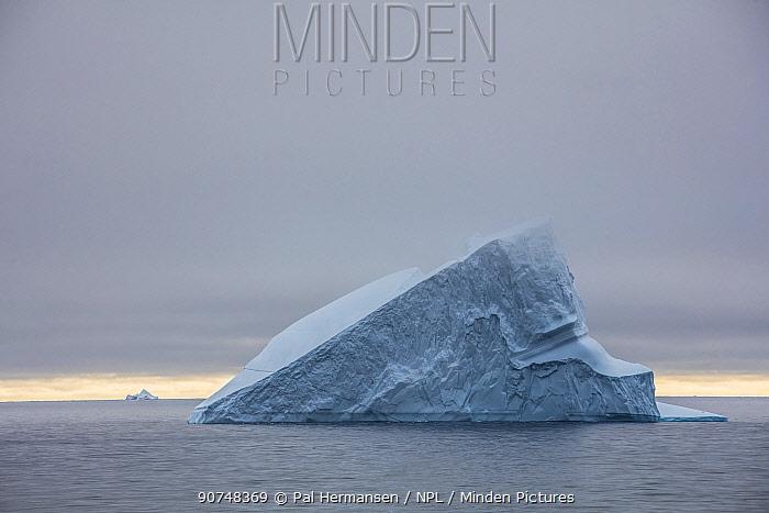 Iceberg  off the coast of Greenland, near Ilullissat, Greenland, July.