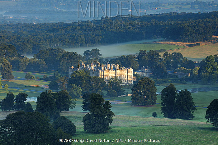 Longleat House, Wiltshire, England, August 2015.