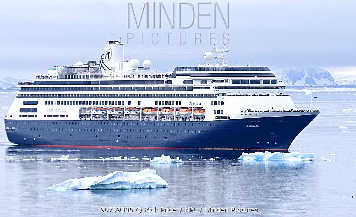 'Zaandam' cruise ship of the Holland America Line, Antarctica. December 2015.