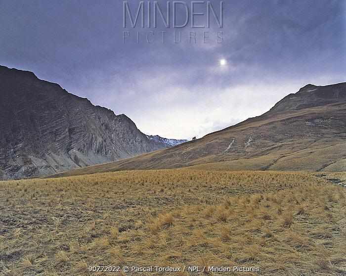 Parpaillon Plateau in the Alps /  Hautes Alpes, France