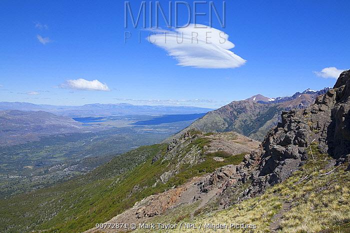 Alpine view, Los Alerces National Park UNESCO World Heritage Site, Argentina.