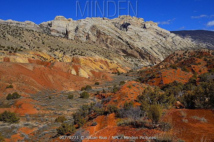 Landscape of Dinosaur National Monument, Utah, USA, March 2014.