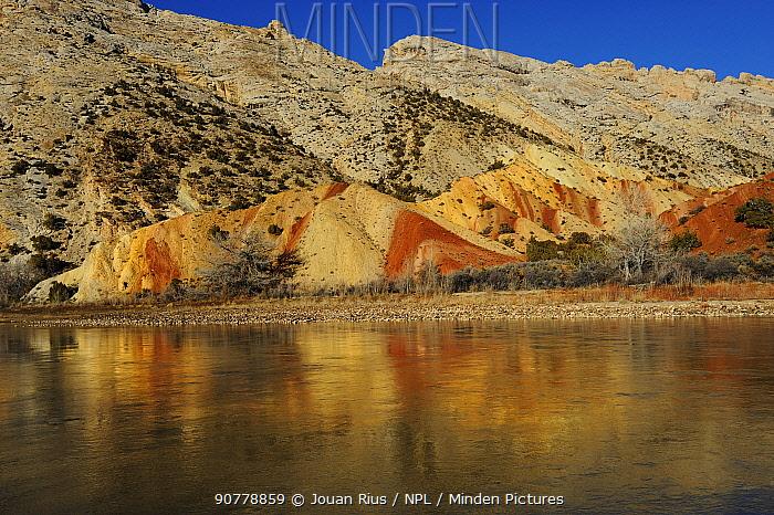 Green River, Dinosaur National Monument, Utah, USA, March 2014.