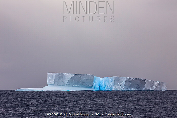 Iceberg, Ross Sea, Antarctica, February 2017. Photographed for the Freshwater Project.