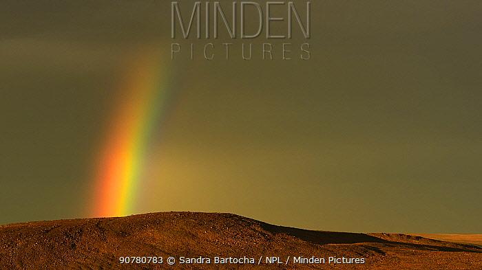 Rainbow over the tundra, Varanger Peninsula, Norway