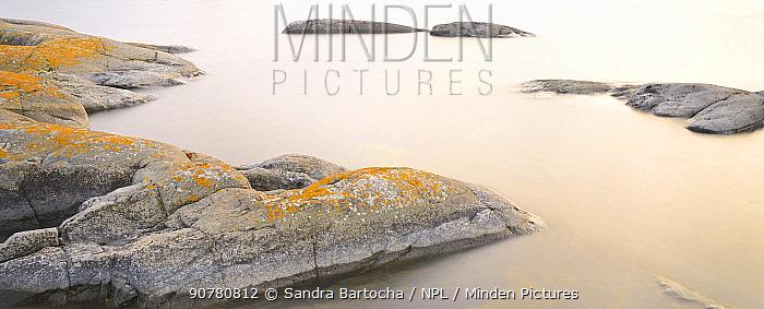 Small rocky islands (Skerries), Stockholm Archipelago, Sweden, August 2014.