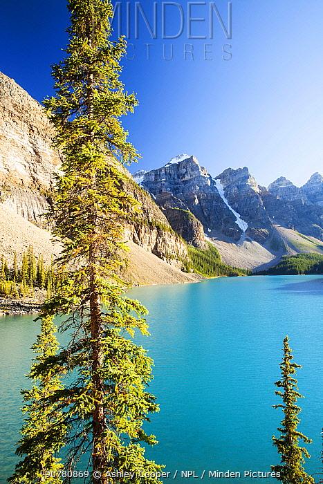 Moraine Lake, Banff National Park, Alberta, Canada, August 2012.