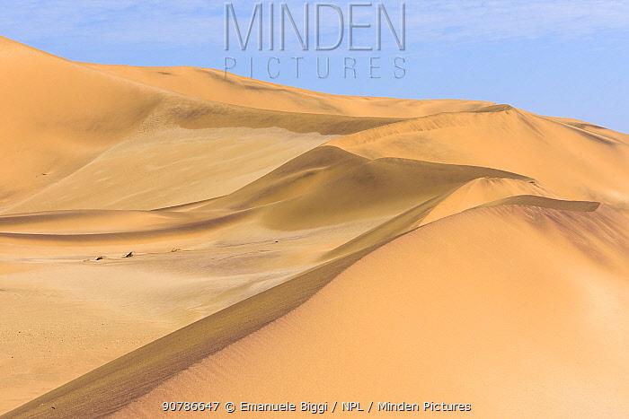 Swakopmund coastal dunes,  Swakopmund, Dorob National Park, Namibia