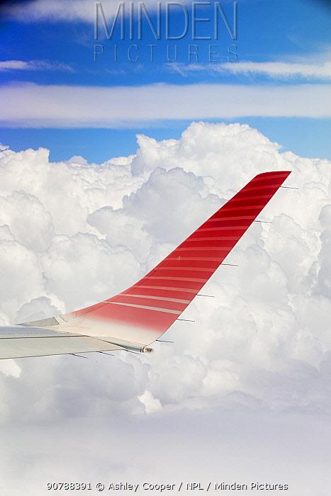 Cumulo Nimbus cloud seen from an aeroplane window over Argentina. February 2014