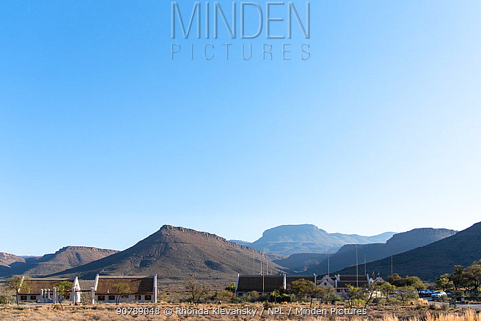 SANParks (South African National Parks) chalets, Karro National Park, South Africa, August 2017