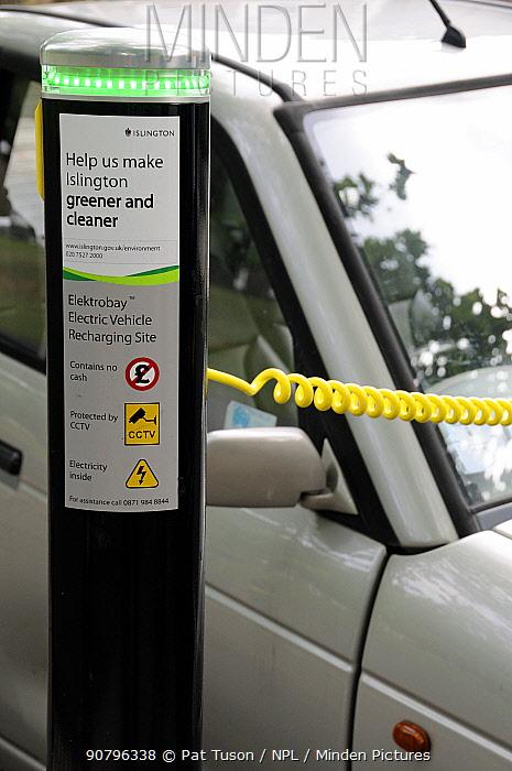 Elektrobay Electric Vehicle Recharging site, London Borough of Islington, UK
