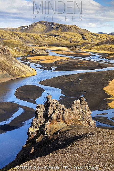 Southern Fjallabak, Iceland. September 2017