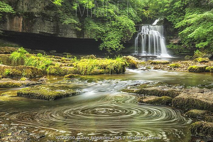 Cauldron Force, West Burton, Yorkshire Dales National Park, North Yorkshire, England, UK, June 2017.