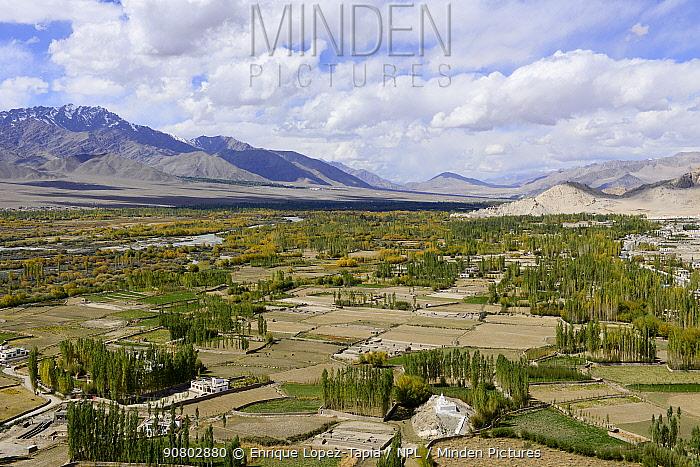 Indus river valley, Leh Ladakh, India, September 2018.