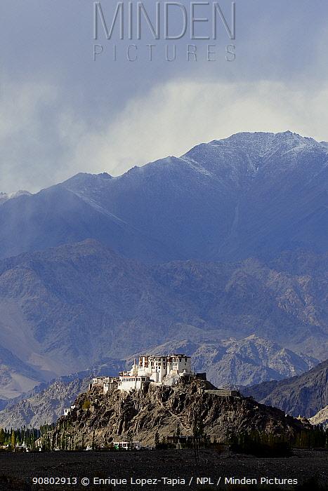 Stakma Monastery, Indus River Valley. Ladakh, , India, September 2018.