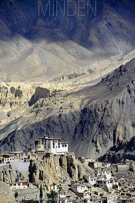 Lamayuru buddhist Monastery at 3390 meters altitud, Ladakh , India, September 2018.