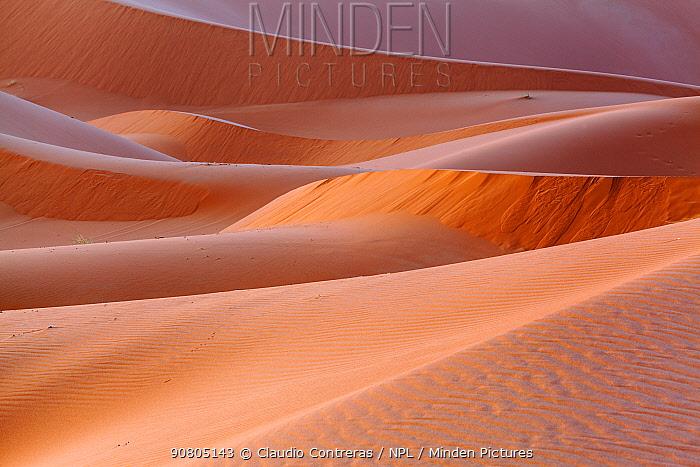 Erg Chebbi dune near Merzouga, Sahara Desert, Morocco, October