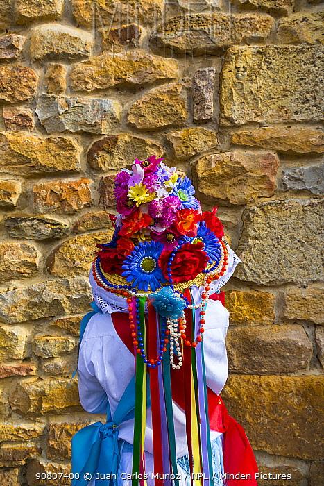 Carnival of Zamarrones, Pejanda village, Polaciones valley, Cantabria, Spain.