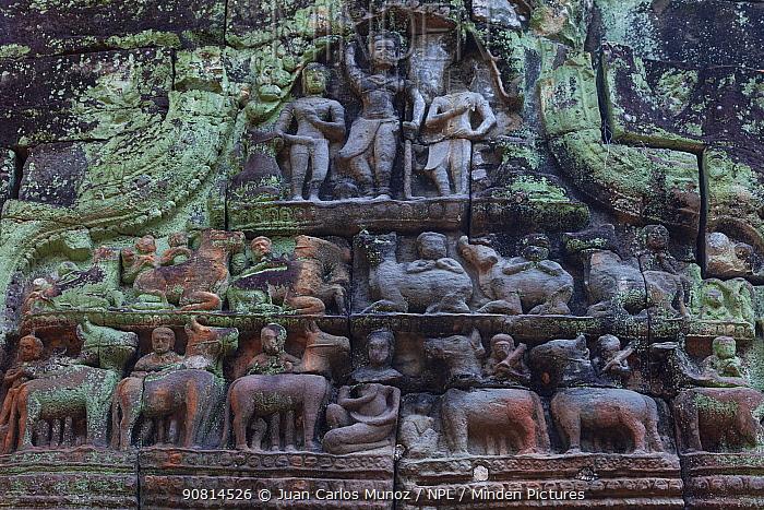 Preah Khan Temple. Angkor. Siem Reap town, Siem Reap province. Cambodia.