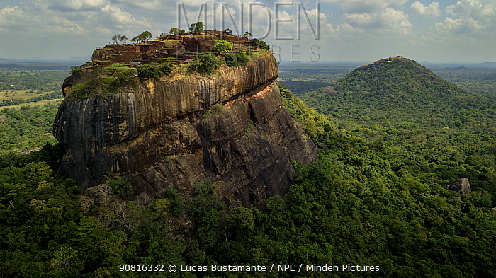 Sigiriya or Lion Rock. Sigiriya, Central Province, Sri Lanka