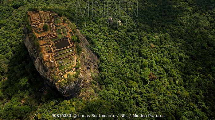 Sigiriya or Lion Rock Sigiriya, Central Province, Sri Lanka
