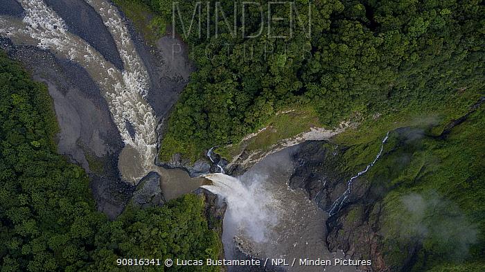 San Rafael waterfall. San Rafael, Napo, Ecuador
