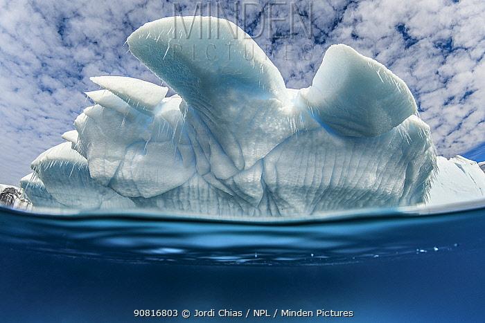 Iceberg, Antarctic Peninsula, Antarctica.