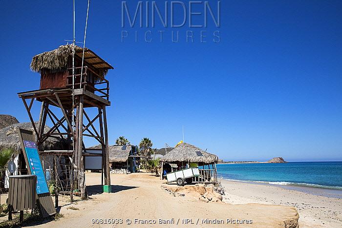 Lookout Tower, el arbolito beach, Cabo Pulmo Marine National Park, Baja California Sur, Mexico