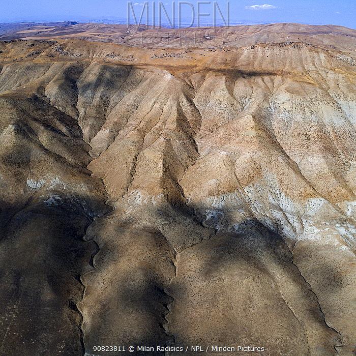 Landscape of mud volcanoes, Azerbaijan