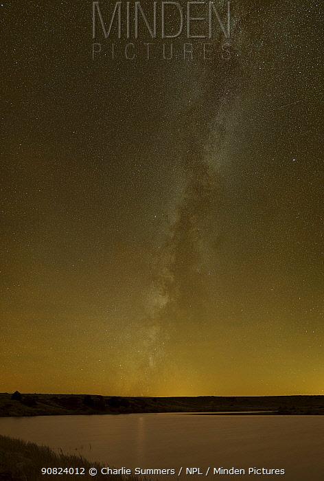 Milkway seen from Lake Karval, Colorado, USA, 1st November 2013.