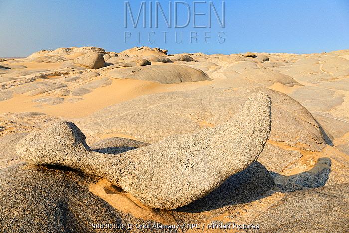 Rocky desert near Torra Bay, Skeleton Coast Park, Damaraland, Namibia