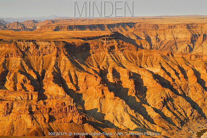 Fish River Canyon, the largest canyon in Africa, Namibia
