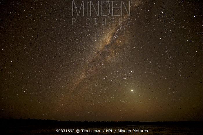 Milky Way over Green Swamp, Piccaninny Plains Sanctuary, Queensland, Australia