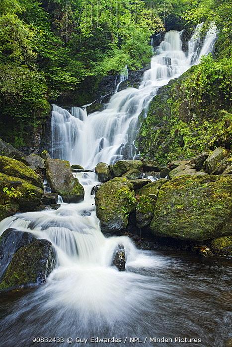 Torc Waterfall, Killarney National Park, Co. Kerry, Republic of Ireland, September 2007.