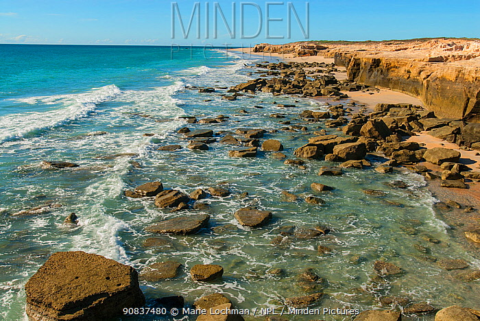 Indian Ocean coastline south of Port Smith, Western Australia. May.