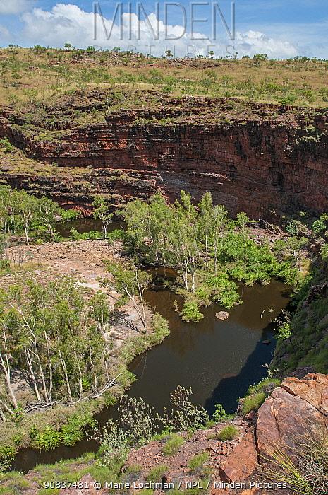 Horseshoe Bend gorge, Kimberley, Western Australia, December 2010