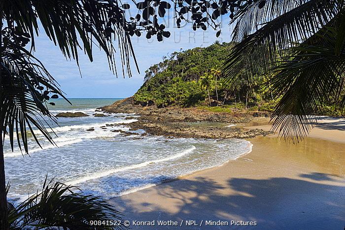 Havaisinho beach near Itacare, Bahia, Brazil.