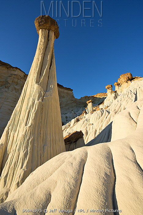 Wahweap Hoodoos in Grand Staircase-Escalante National Monument in southern Utah, USA. April 2013.