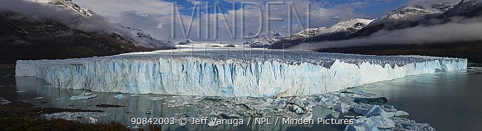 Perito Mereno Glacier in Los Glaciares National Park, Argentina. April 2018.