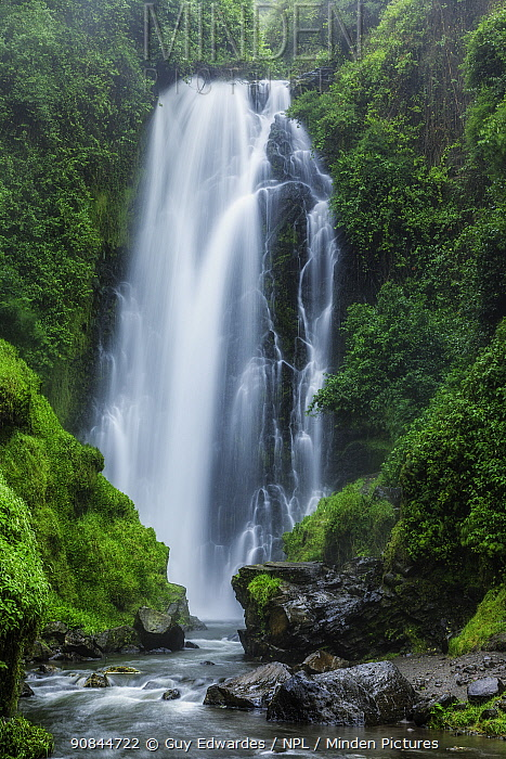 Peguche Waterfall. Otavalo, Northern Sierra, Imbabura Province, Ecuador. 2010.