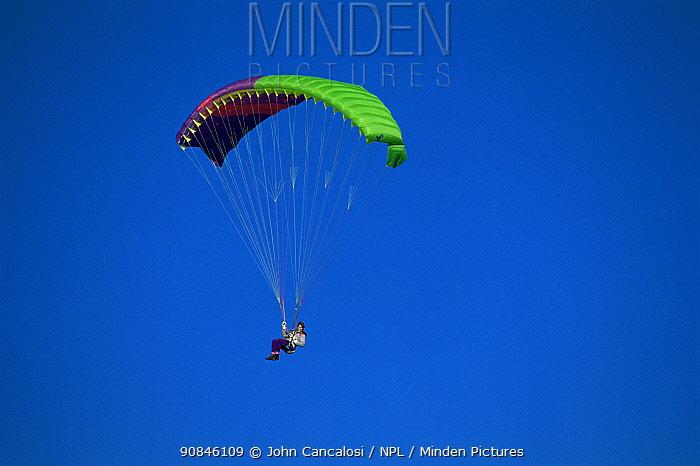 Paraglilding, South Island, New Zealand